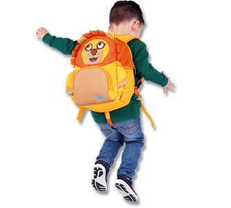 Playzeez Kid's Backpacks| back care image